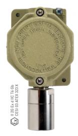 TS293 RIVELATORE GAS INDUSTRIALE, CON CARTUCCIA SENSORE SOSTITUIBILE CERTIFICATO ATEX PER ZONA 1 Image
